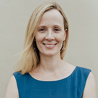 Paediatrician Dr Joanna Glover